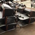 Gray Floor-mount Astrodome Seats