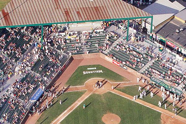 Madison Mallards Green Stadium Seats From Camden Yards